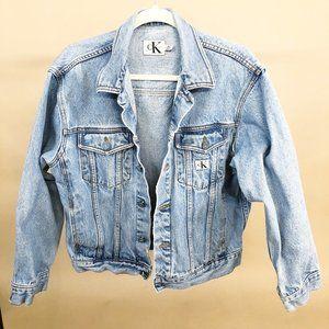 Calvin Klein Vintage 80s/90s Jean Jacket XL